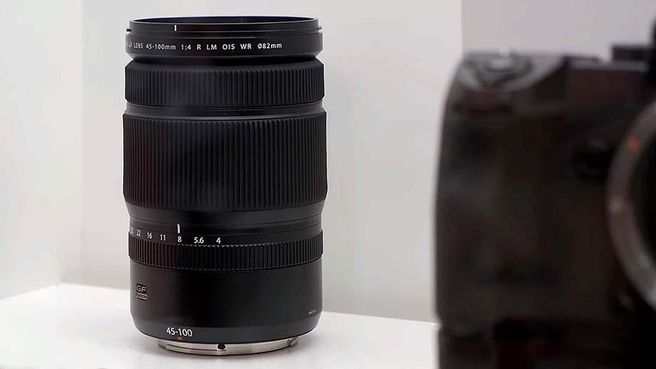 Fujifilm готовит зум 45-100mm F4 под GF-Mount и Fujifilm X-T4