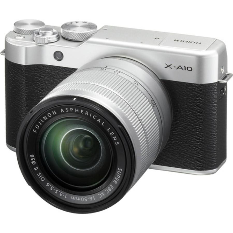 Официально представлена беззеркальная камера Fujifilm X-A10