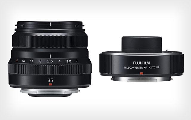 Fujifilm представила объектив 35/2 WR и телеконвертер ×1.4