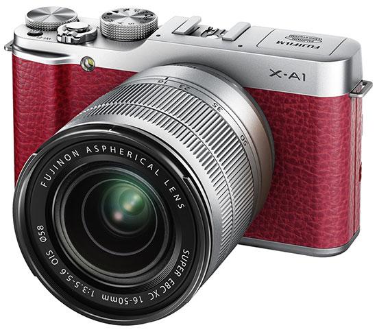 Fujifilm X-A1 увидела свет, хотя и не очень яркий, но вместе с объективом Fujinon XC 50-230mm f/4.5-6.7 OIS