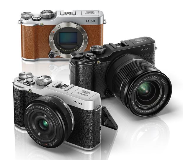 Fujifilm X-M1 анонсирована с новыми объективами Fujinon 16-50 и 27/2.8