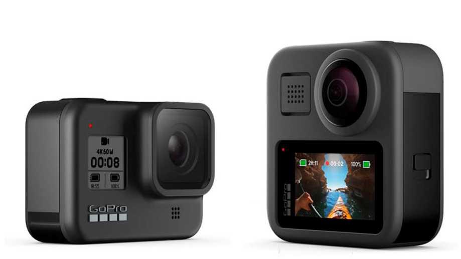 GoPro HERO8 Black за $400 и GoPro MAX за $500 анонсированы