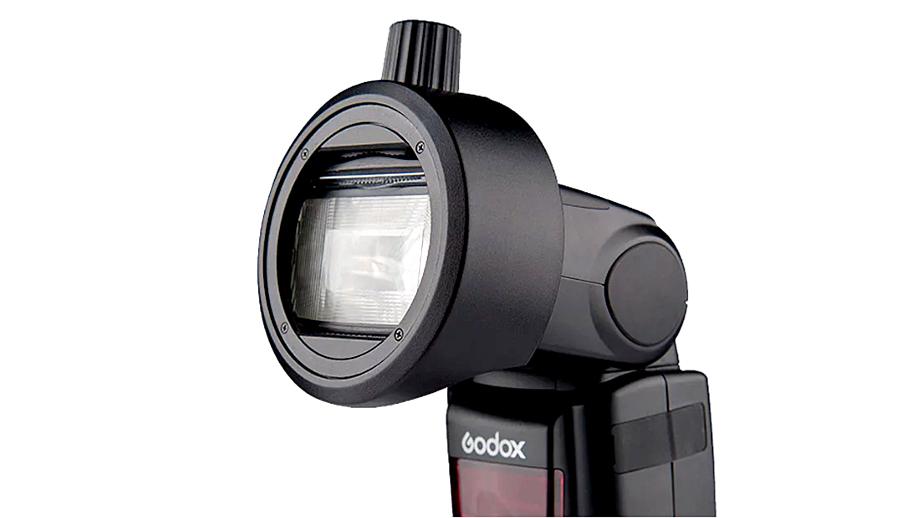 Godox S-R1 для магнитной фиксации насадок на вспышках