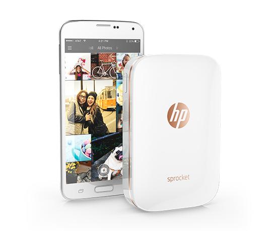 HP выпустила микрофотопринтер для смартфона