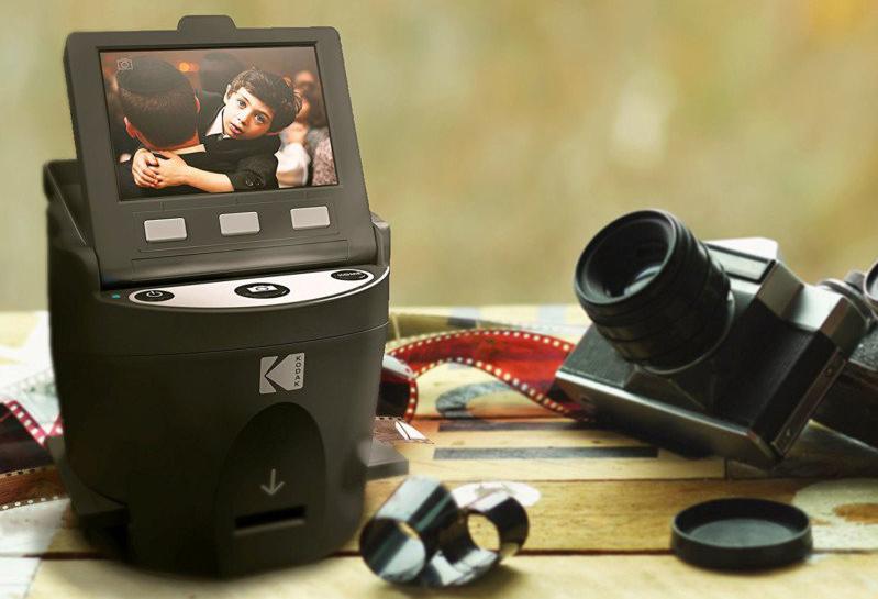 Kodak представила бюджетный сканер для пленки Scanza