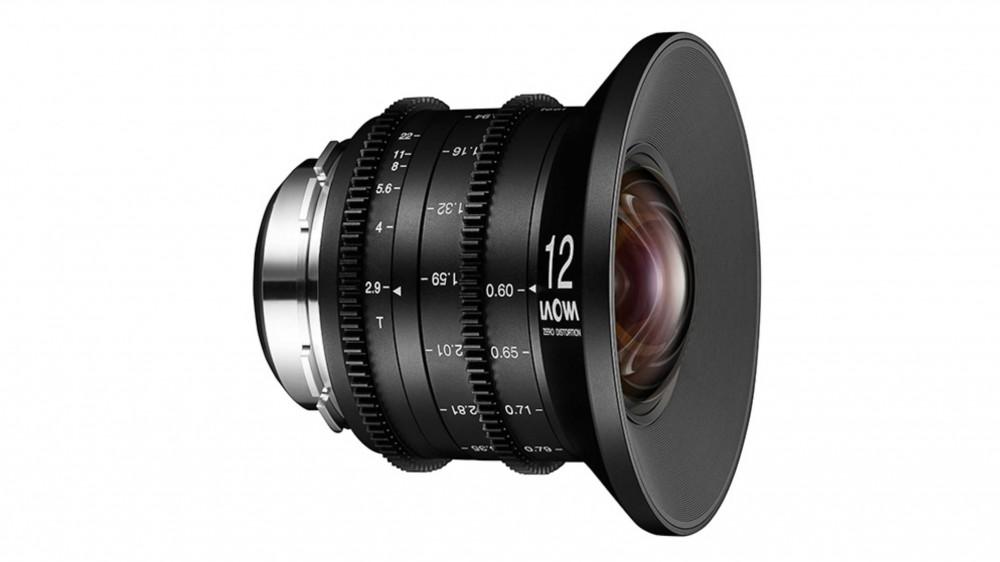 Кинообъектив Laowa 12mm t/2.9 Zero-D поступил в продажу