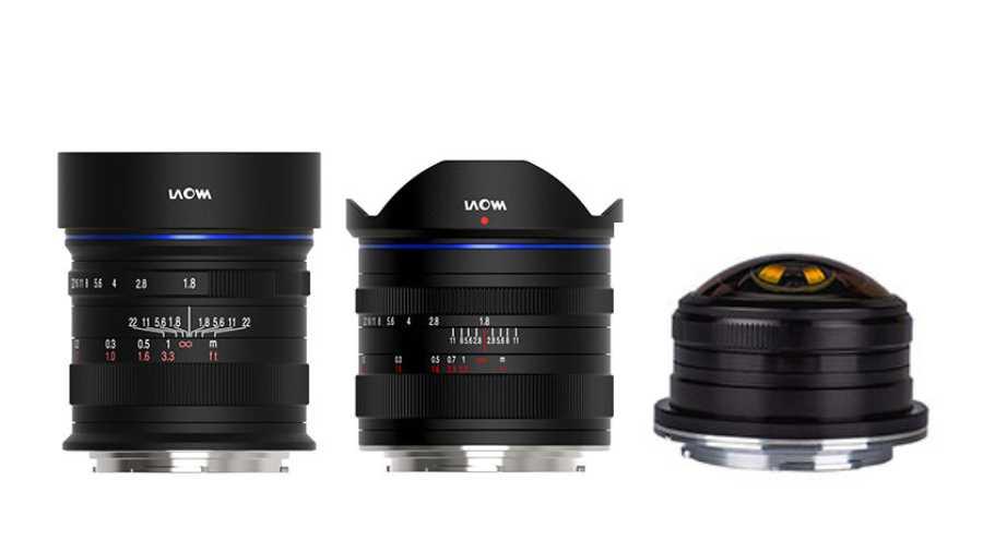 Venus Optics представит три MFT-объектива Laowa: 17mm f/1.8, 12mm f/1.8 и 4mm f/2.8 Fisheye