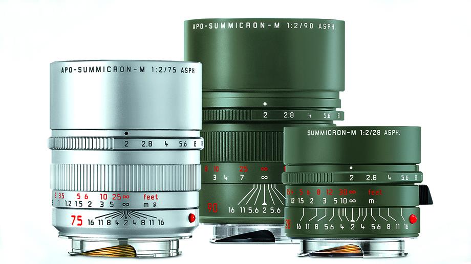 Leica объявляет о выпуске трех лимитированных объективов Summicron M