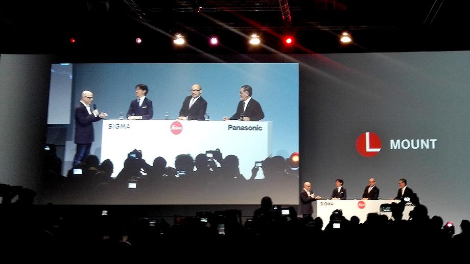 Leica, Sigma и Panasonic создают новую полнокадровую беззеркальную систему с байонетом L | photokina 2018