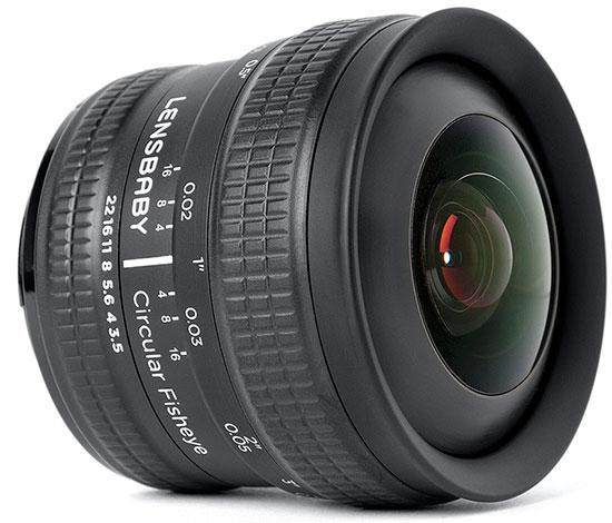 Анонсирован фишай объектив Lensbaby 5.8mm f/3.5