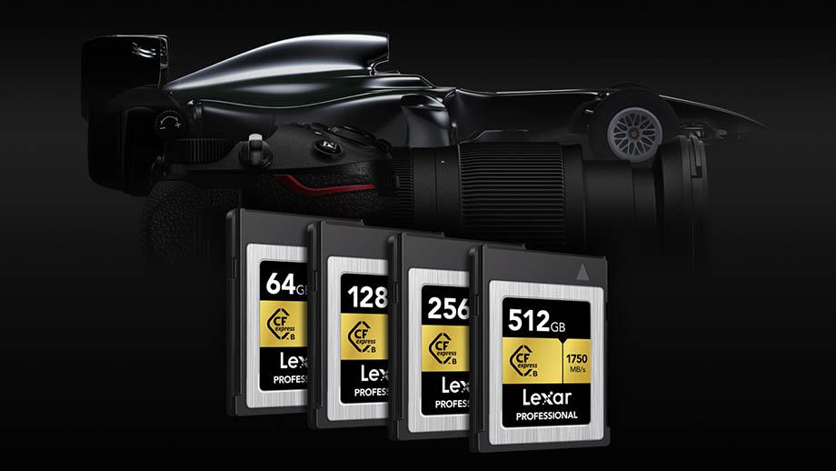 Lexar анонсировал карты памяти CFexpress со скоростью 1750 МБ/с