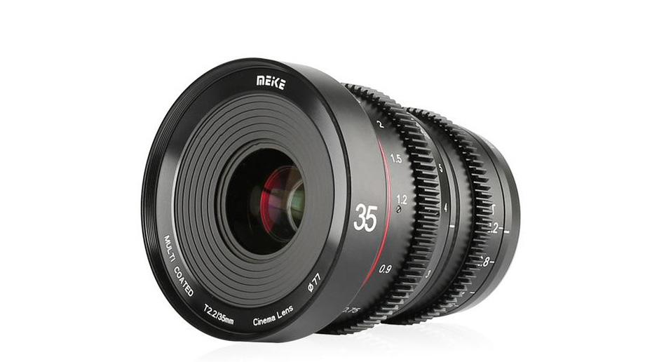 Анонсирован кинообъектив Meike 35mm T2.2 под MFT за $360