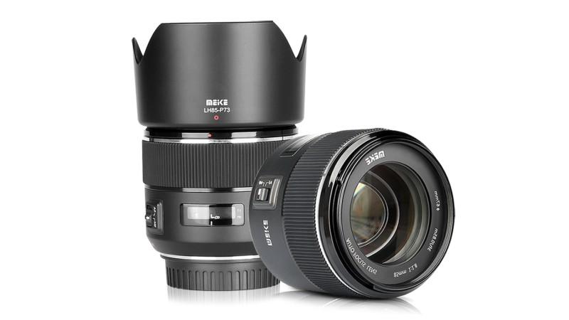 Meike 85mm F/1.8 – первый автофокусный объектив
