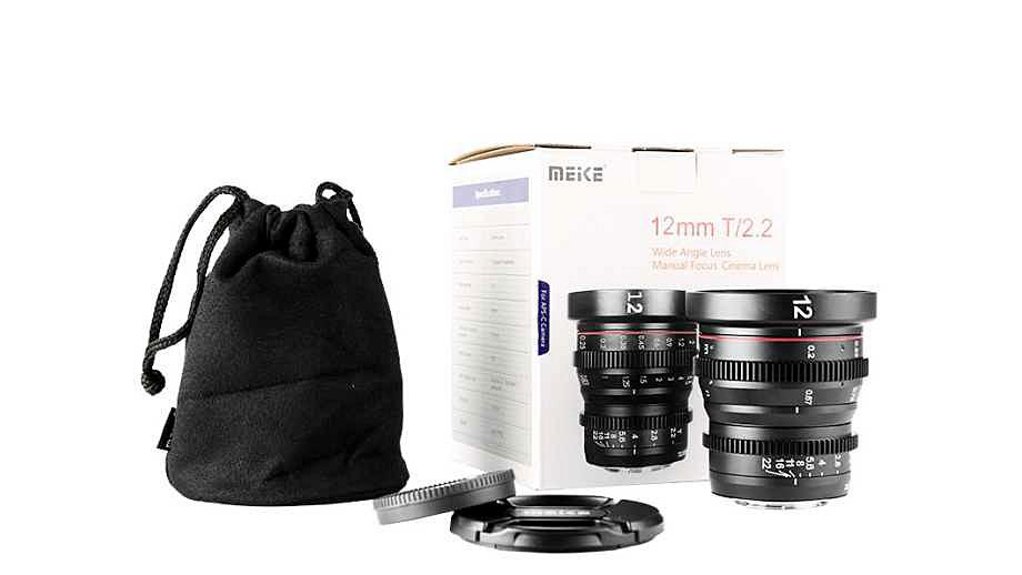 """Meike анонсировала кинообъектив MK 12mm T2. 2 Cine для Micro-4/3"""", еще три объектива Cine MFT появятся в октябре"""