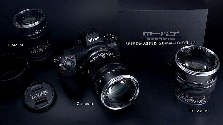 Mitakon Speedmaster 50mm f/0.95 III выпущен под Nikon Z, Canon RF/EF и Sony E