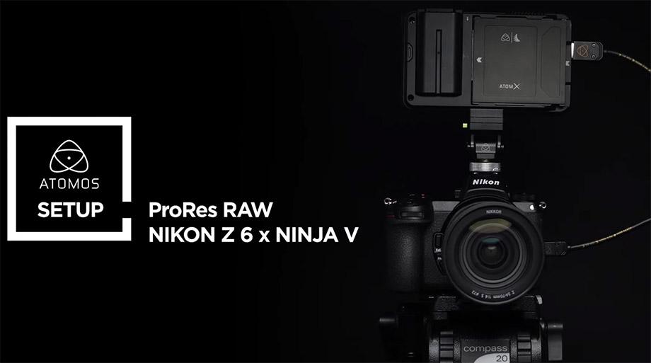 Nikon продает прошивку с 4K ProRes RAW под Atomos за $200