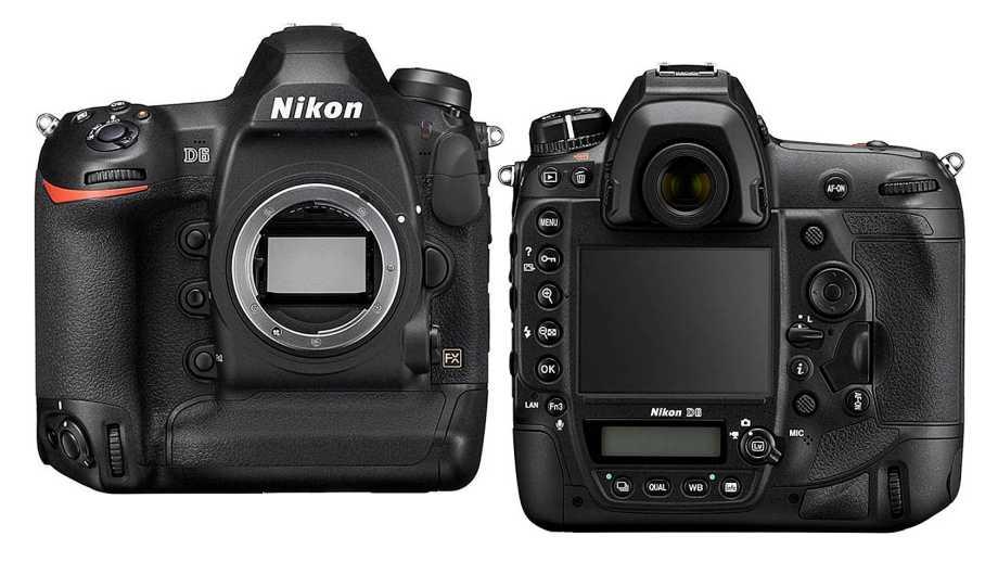 Nikon D6 официально представлен