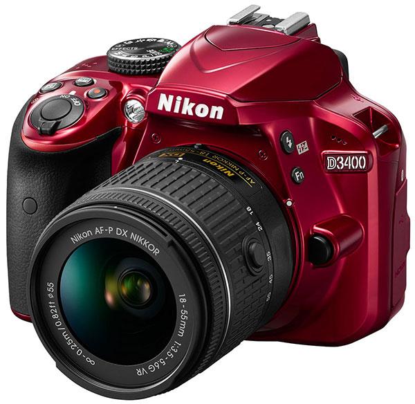 Nikon D3400 — незначительное развитие D3300