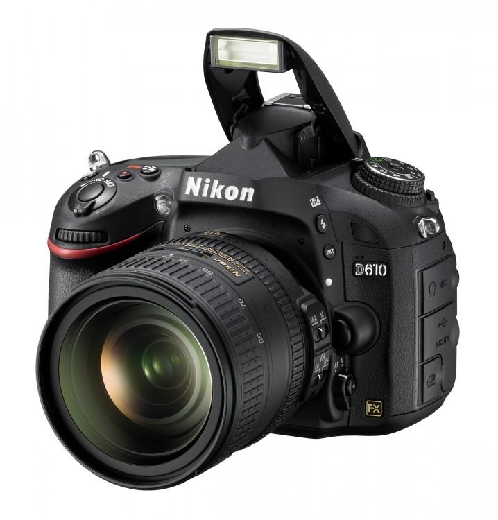 Интерактивный тест Nikon D610