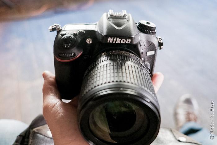 Интерактивный тест Nikon D7100