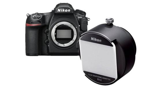 Адаптер Nikon ES-2 позволит сканировать пленку с разрешением 45,7 МП