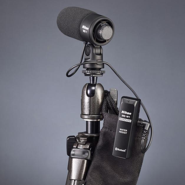 Беспроводный микрофон Nikon ME-W1 для видеографов