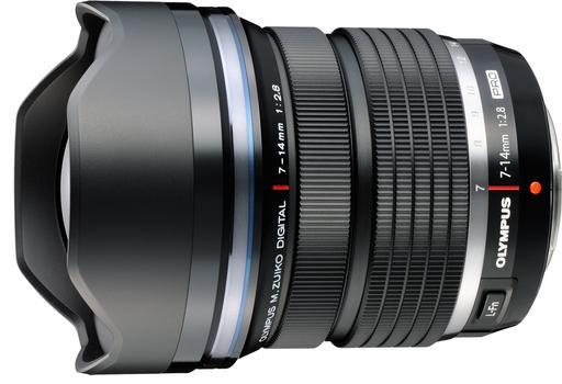 Olympus анонсировал pro-объективы 7-14 и 8 мм фишай