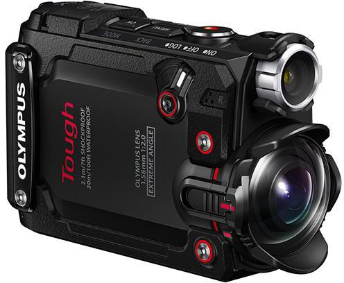Olympus представил гибридную многофункциональную экшен-камеру