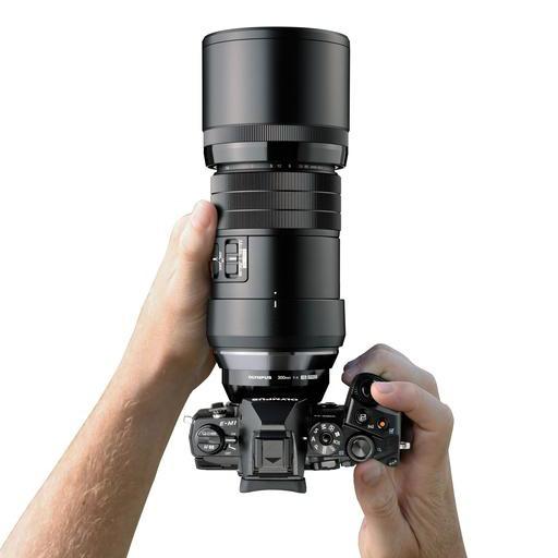Olympus представил телеобъектив  M.ZUIKO Digital ED 300mm f4.0 IS PRO