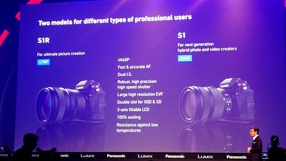 Panasonic анонсировал разработку полнокадровых беззеркальных камер S1 и S1R | photokina 2018