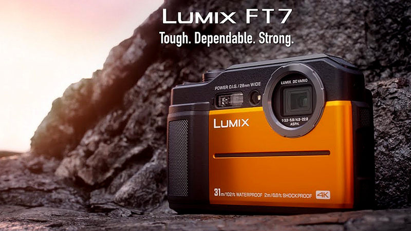 Lumix DC- FT7 – фотобатискаф от Panasonic