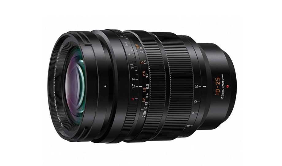 Panasonic представил профессиональный объектив Leica DG Vario-Summilux 10-25mm F1.7