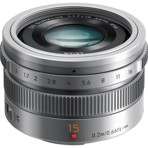 Выпущен Leica DG Summilux 15 мм/F1.7 Asph под систему микро-4/3