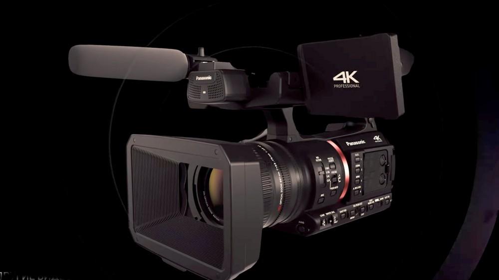 Panasonic AG-CX350 – профессиональная 4K камера, пишущая 4K/60р 10-бит на карту памяти
