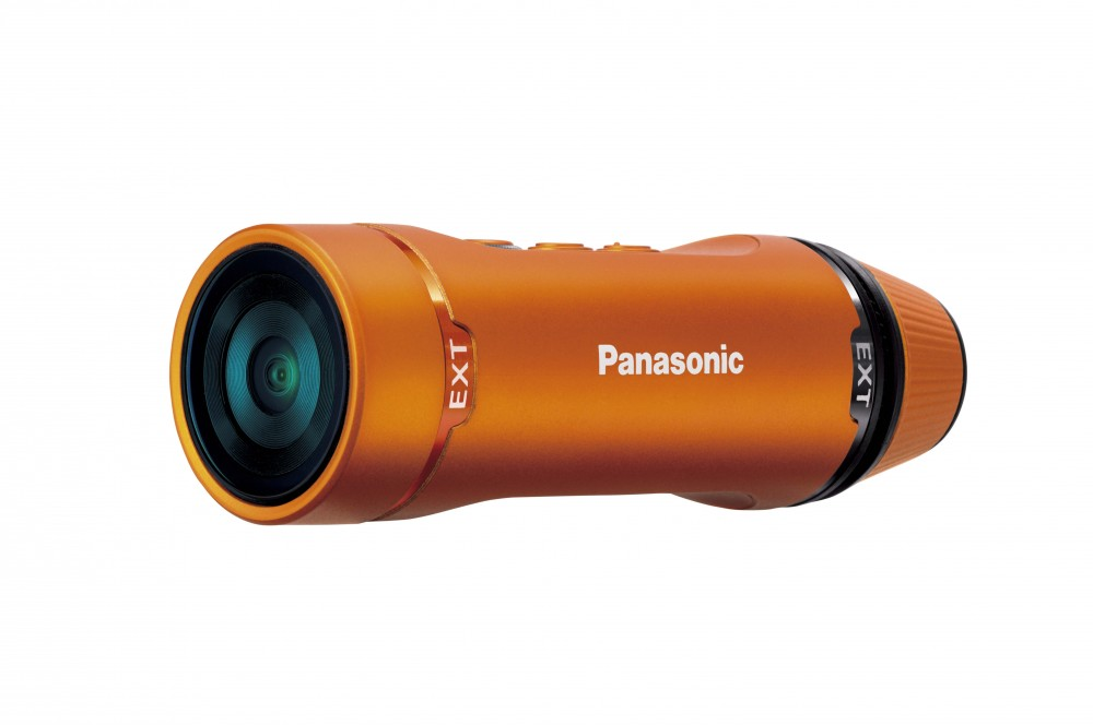 Экшен-камера Panasonic HX-A1 весит меньше 50 граммов