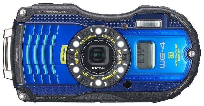 Тест Ricoh WG-4 GPS