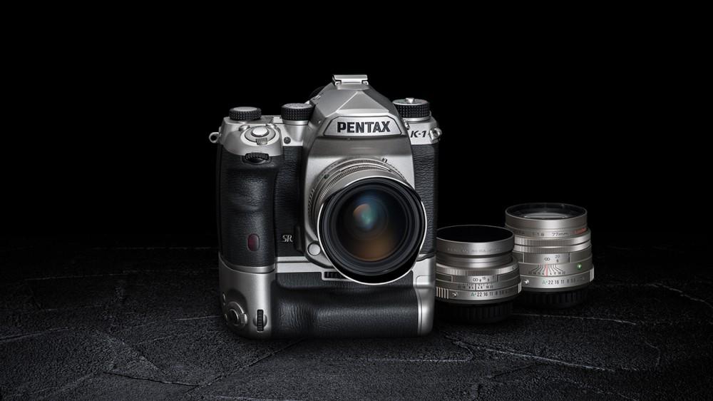Выпущена лимитированная серия Pentax K-1 Limited Silver эксклюзивного дизайна