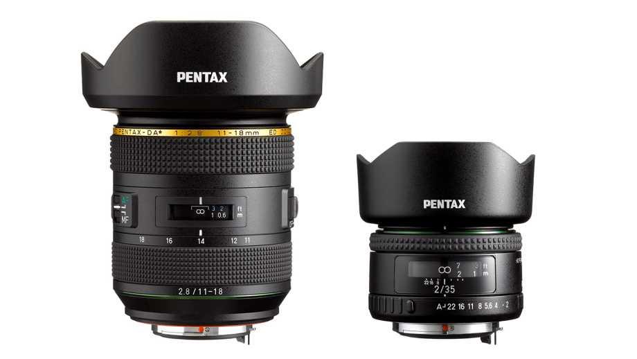 Анонсы HD Pentax-DA★11-18mm f/2.8 ED DC AW и HD Pentax-FA 35mm f/2
