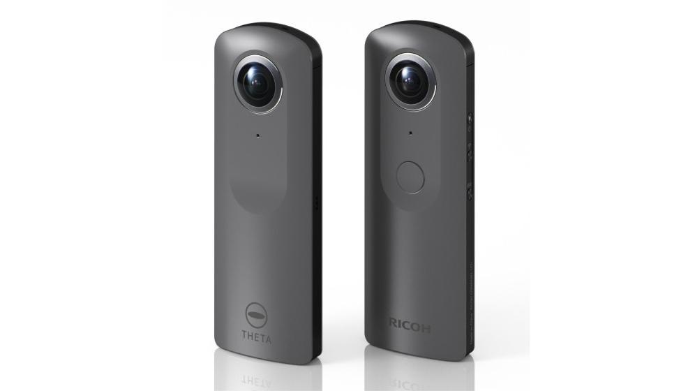 Представлена Ricoh Theta V, VR-камера Hi-End класса, заточенная под 4К