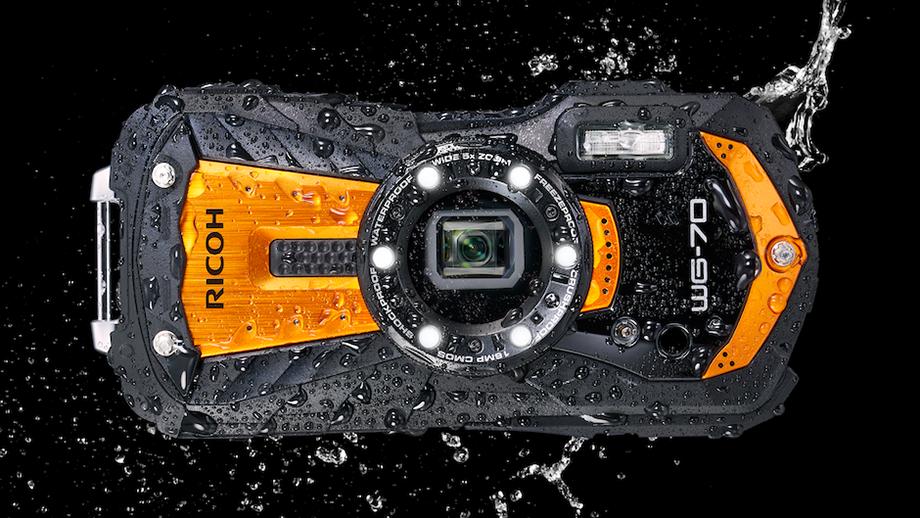 Ricoh WG-70 – яркая камера-вездеход