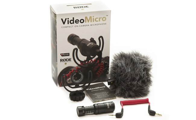 Rode представила компактные микрофоны VideoMicro и VideoMic