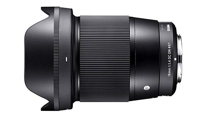 Анонсирован объектив Sigma 16mm f/1.4 DC DN под беззеркальные системы Sony и MFT