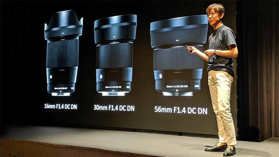 Sigma выпустит три объектива под байонет Canon EF-M