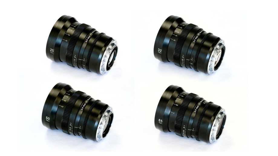 SLR Magic выпустил 4 кинообъектива серии APO-MicroPrime под Canon EF