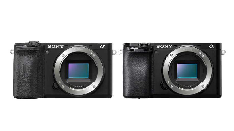 Sony выпустила две хорошо забытые камеры: а6100 и а6600 и два профессиональных объектива