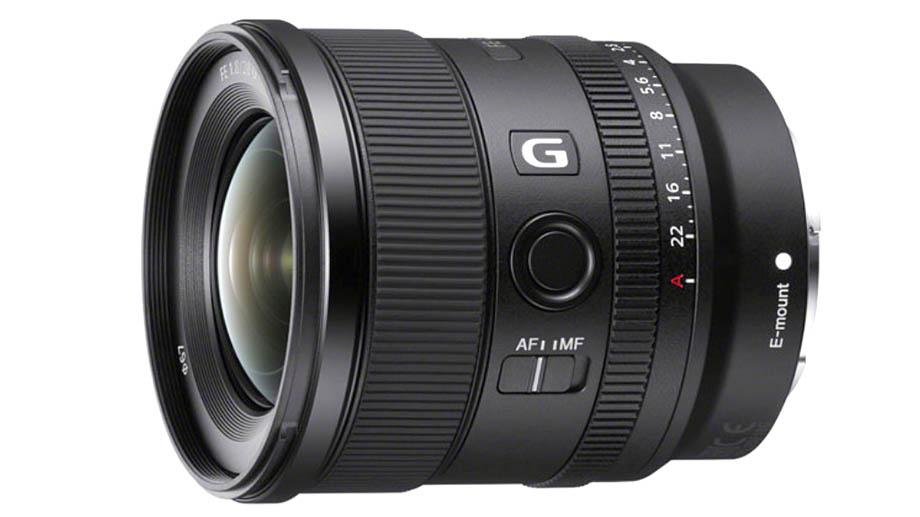Новый широкоугольный объектив Sony FE 20mm F1.8 G