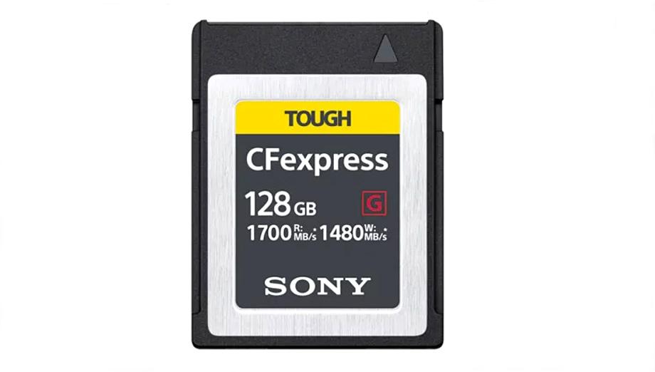 Sony выпустит ультраскоростную (1700 MБ/с) карту CFexpress