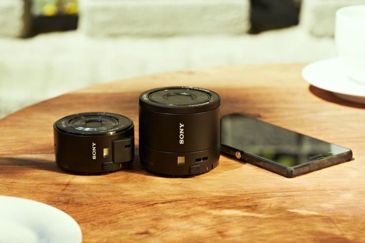 Sony анонсировала смартографы QX100 и QX10