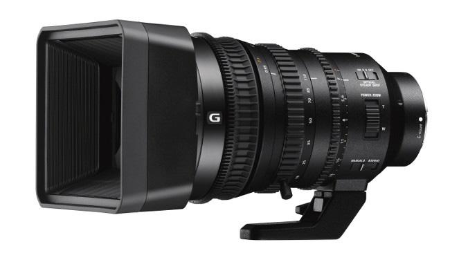 Sony представила видеообъектив E PZ 18-110mm F4 G OSS