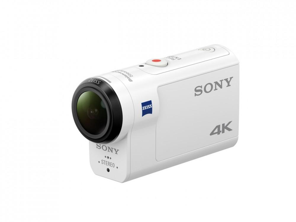 Sony представила 4К экшен-камеру FDR-X3000 со стабилизатором